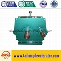 MBY400~1100 helical ball mill gearbox