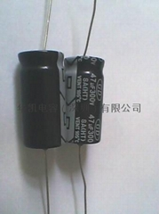 AXIAL electrolytic capacitor