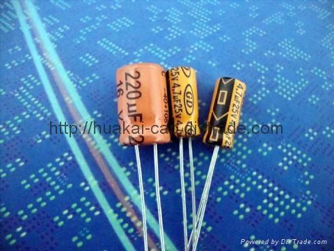 Low leakage electrolytic capacitor 2