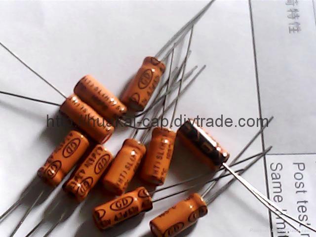 Low leakage SL series aluminum electrolytic capacitors 4
