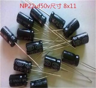 NP Aluminum Electrolytic Capacitors  5