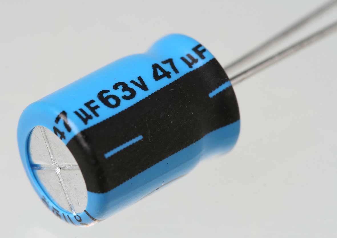 Taping electrolytic capacitor 1