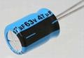 Taping electrolytic capacitor