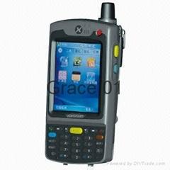 Wholesale Handheld Wireless Microsoft's Windows CE POS Terminals, 3,000mAh Batte