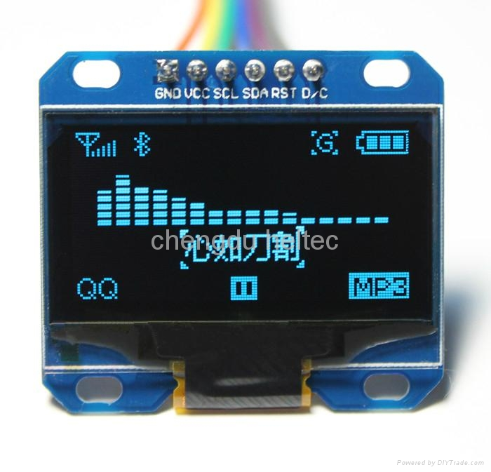 1.3inch 128*64 Blue OLED module for Arduino