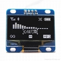 advised design for 1.3 inch IIC OLED display  module white(arduino)