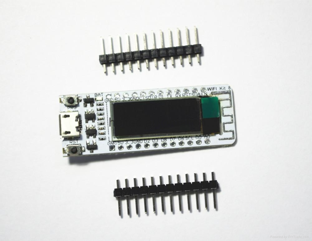 ESP8266 Development board for arduino with 0.91inch oled display