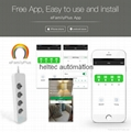 WiFi Smart Power Socket,/Smart Power /Surge Protector 4 AC Outlets