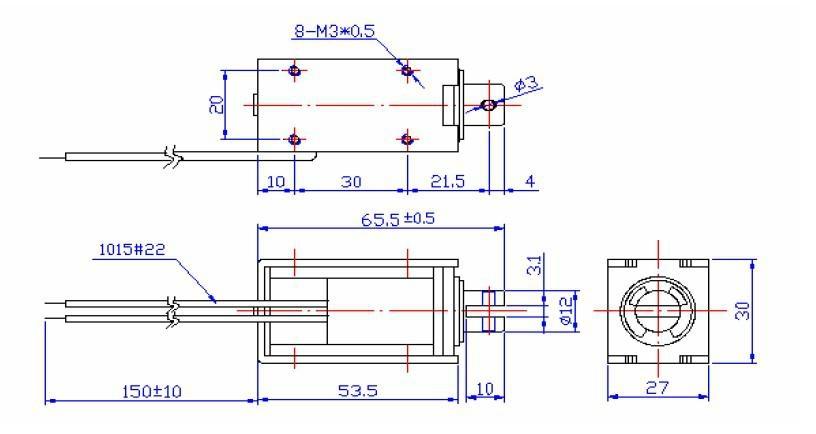 Solenoid lock 12 or 24V DC Voltage electronic automatic door manufacturer 3