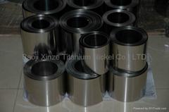 Titanium foil or titanium strip