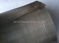 Titanium net used for water treatment