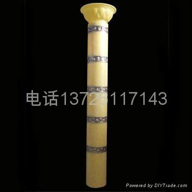 仿雲石圓筒羅馬柱燈 2