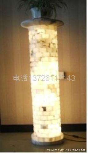 仿雲石圓筒羅馬柱燈 3