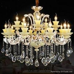 玉石水晶燈