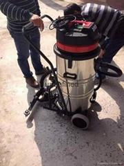 鑑崧吸水機80L吸塵器固化環氧地坪吸塵吸水機2000W大功率大容量V1