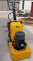 上海鑑松12頭打磨機700地坪研磨機耐磨地面固話環氧舊地面翻新 2