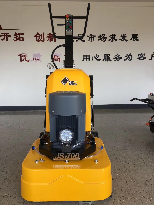 上海鑑松12頭打磨機700地坪研磨機耐磨地面固話環氧舊地面翻新 3