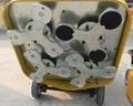 上海鑑松12頭打磨機700地坪研磨機耐磨地面固話環氧舊地面翻新 4