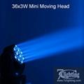 36x3W Moving Head Beam Light Mini Stage Light