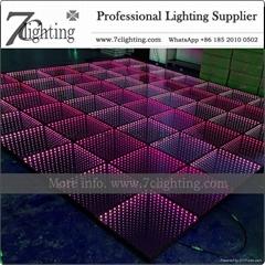 3D LED Dance Floor Mirror LED Floor Lighting