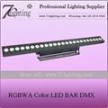 24x15W RGBWA LED Wall Washer DMX LED Bar