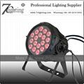 18x10W LED PAR RGBW Spot Light Waterproof