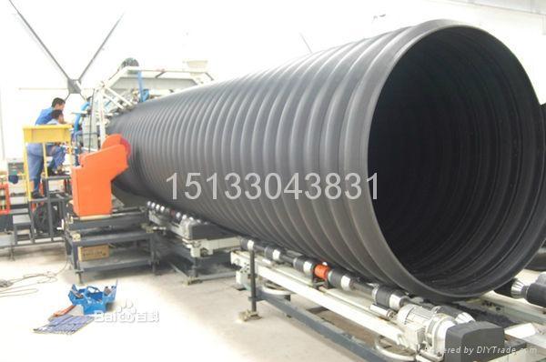 颐通HDPE钢带增强波纹管 2