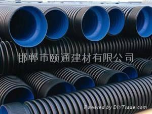 pe排水波纹管 1