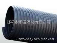 國標PE大口徑波紋鋼帶管