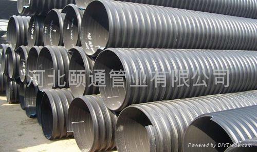 颐通HDPE钢带增强波纹管 4
