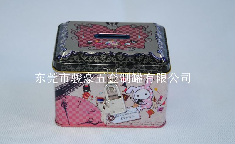 卡通馬口鐵文具鐵盒 4