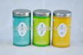 Black tartary buckwheat tea tin packaging 2