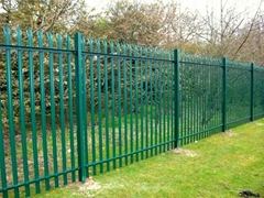Steel Palisade Fence(factory)Security Fence
