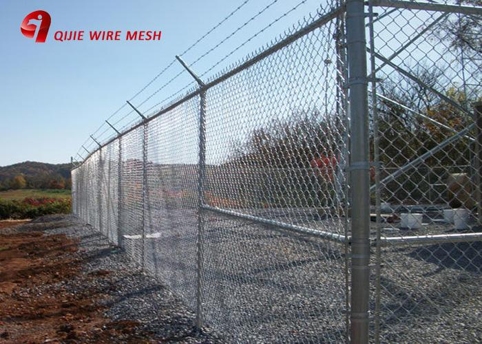 Hot Dipped Ga  anized 9 Gauge Chain Link Fence 3
