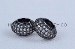 CZ micro pave charms,CZ micro pave oval beads,oliver,round,square,diamond beads