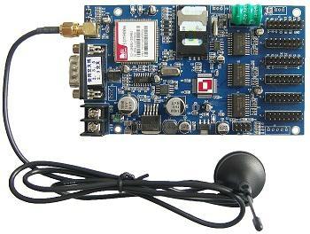 LED顯示屏GSM控制短信控制卡EX—60  2