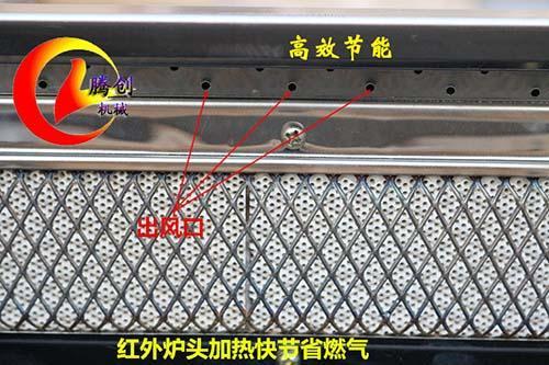 1.5米无烟环保燃气烧烤炉商用烤串烧烤机 2