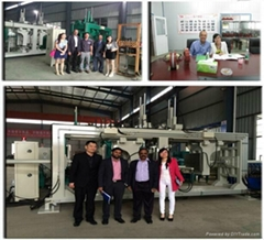APG injection molding machine