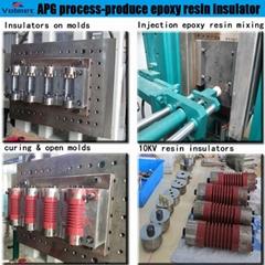 China full automatic SF6 circuit breaker apg clamping machine