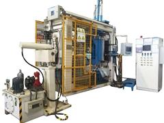 resin transfer molding machine for SF6 circuit breaker
