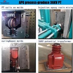 screw type bushing automatic pressure gelation hydraulic moulding machine