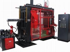 resin transfer molding machine for voltage instrument transformer