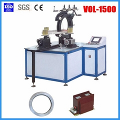 simple operation+high quality automatic voltage transformer winding machine