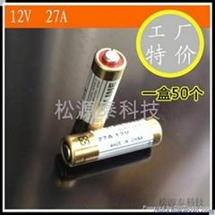 12V27A/L828紐扣疊層電池