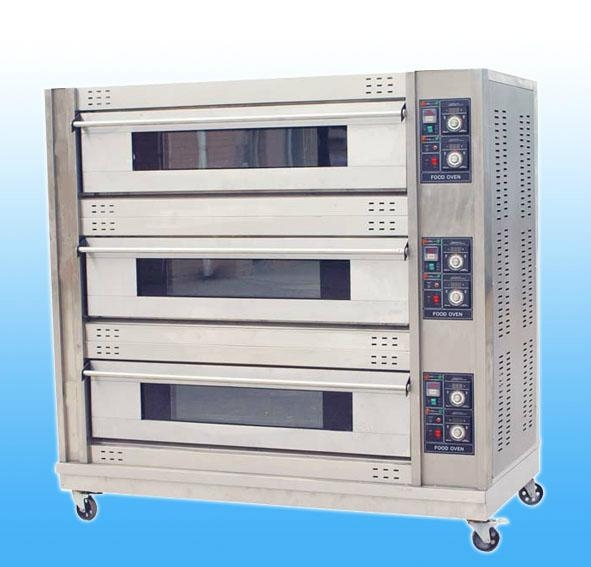 Three Decks Electric Deck Oven 1