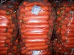 chinese fresh carrots