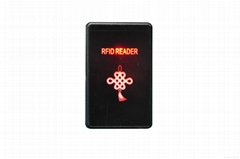 Non-contact radio frequency ID card / IC card reader
