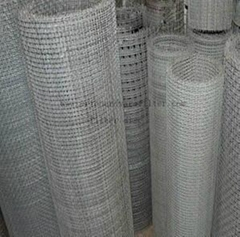 hot-galvanized crimped wire mesh