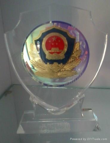 水晶獎牌 5