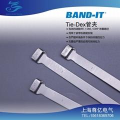 BAND-IT Tie-Dex 管夾A31189 A10089 美國進口